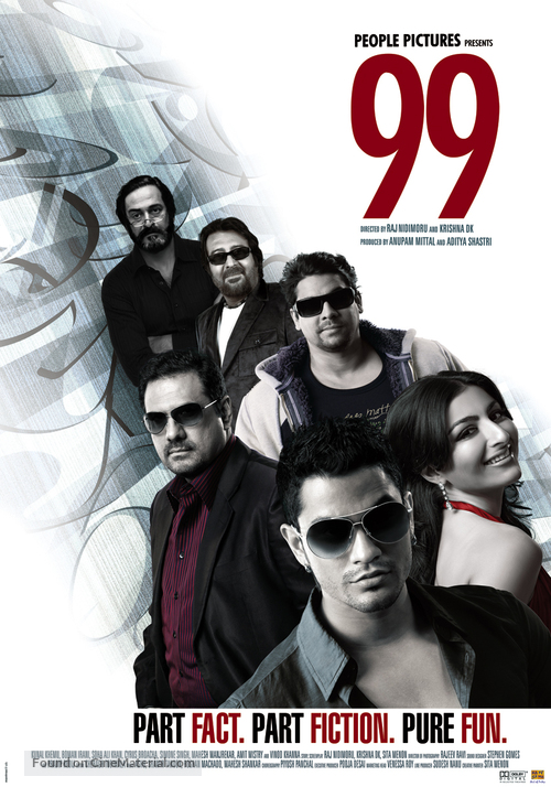 99 - Indian Movie Poster