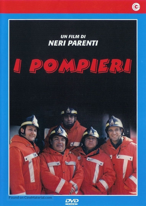 I pompieri - Italian Movie Cover