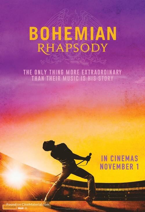 Bohemian Rhapsody - Australian Movie Poster