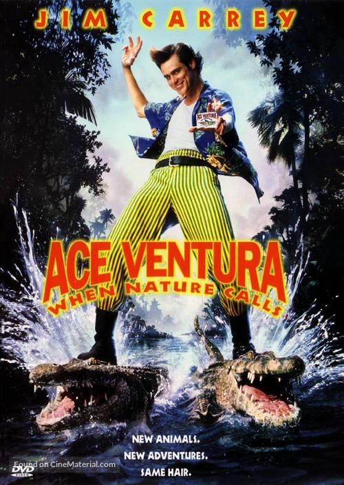Ace Ventura: When Nature Calls - DVD movie cover