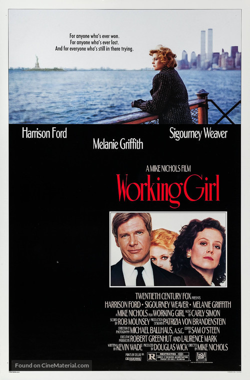 Working Girl - Movie Poster