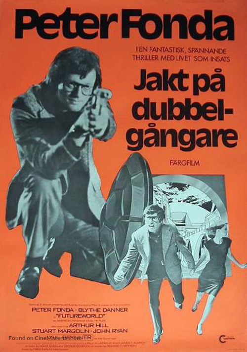 Futureworld - Norwegian Movie Poster