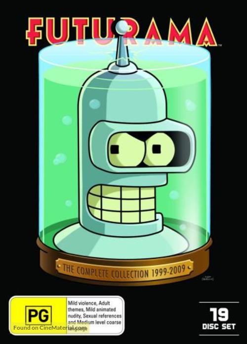 """Futurama"" - Australian DVD movie cover"