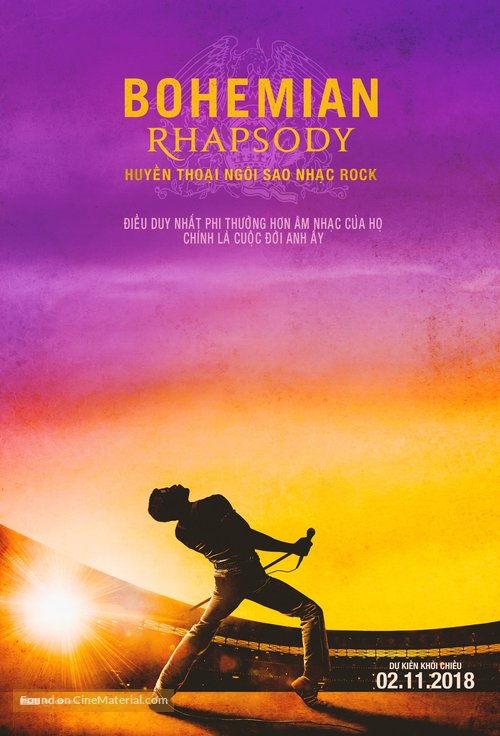 Bohemian Rhapsody - Vietnamese Movie Poster