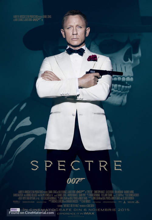 Spectre - Romanian Movie Poster
