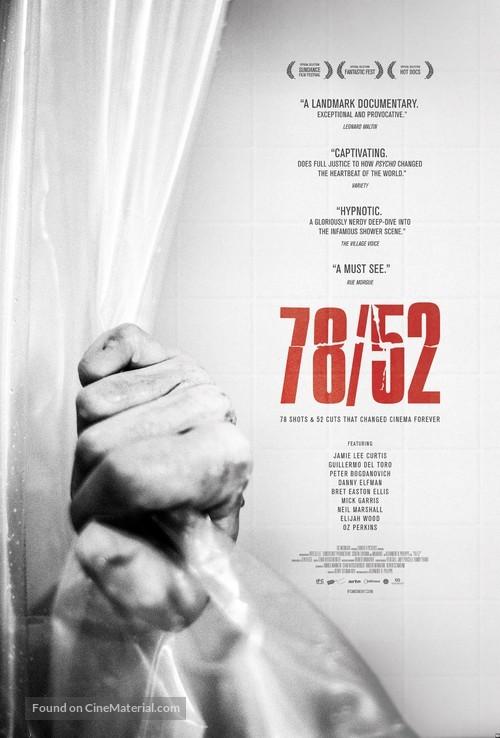 78/52 - Movie Poster