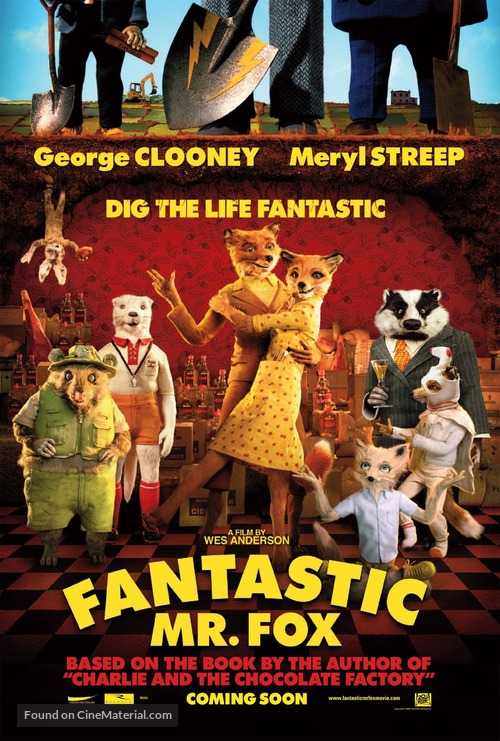 Fantastic Mr. Fox - Movie Poster
