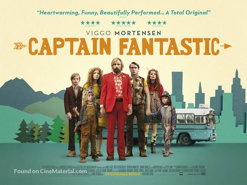 Captain Fantastic - British Movie Poster