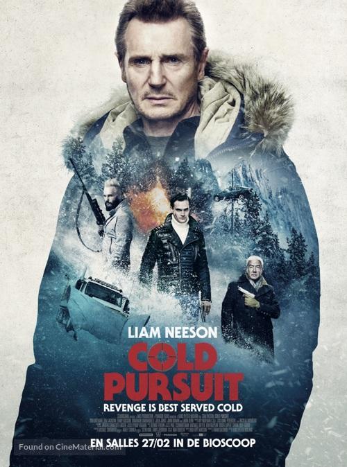 Cold Pursuit - Belgian Movie Poster