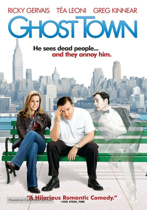 Ghost Town - DVD movie cover