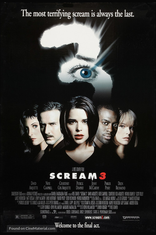 Scream 3 - Movie Poster