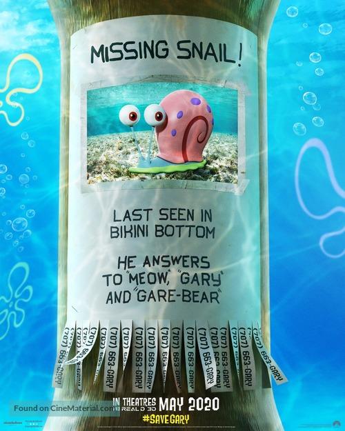 The SpongeBob Movie: Sponge on the Run - Movie Poster