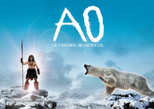 Ao, le dernier Néandertal - French Movie Poster