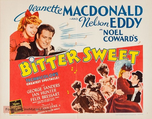Bitter Sweet - Re-release movie poster
