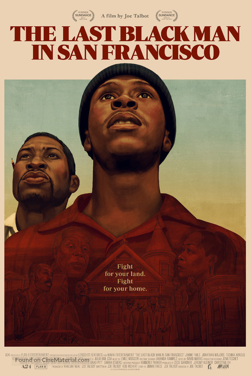 The Last Black Man in San Francisco - Movie Poster