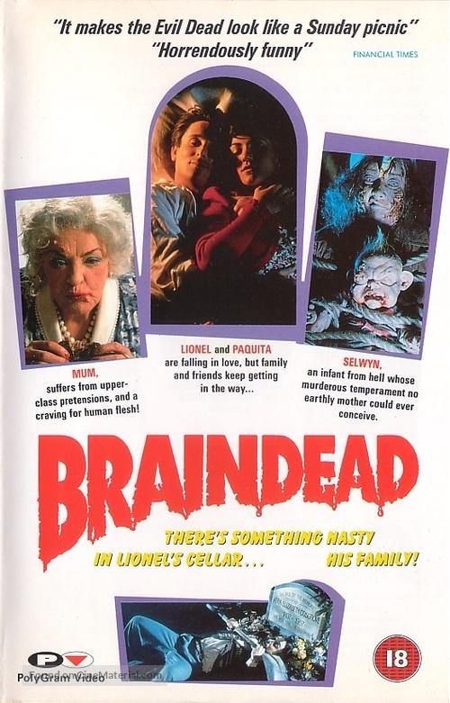 Braindead - British Movie Cover