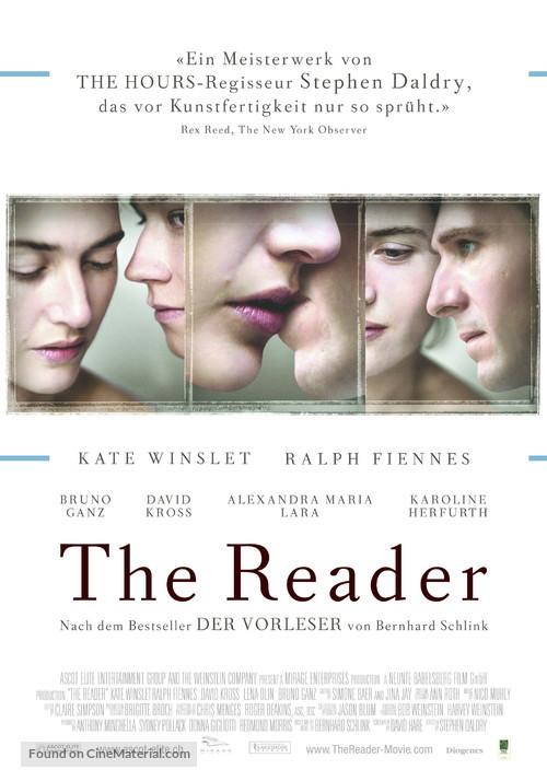 The Reader - German Movie Poster