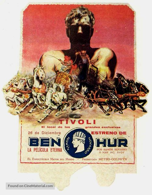 Ben-Hur - Spanish Movie Poster