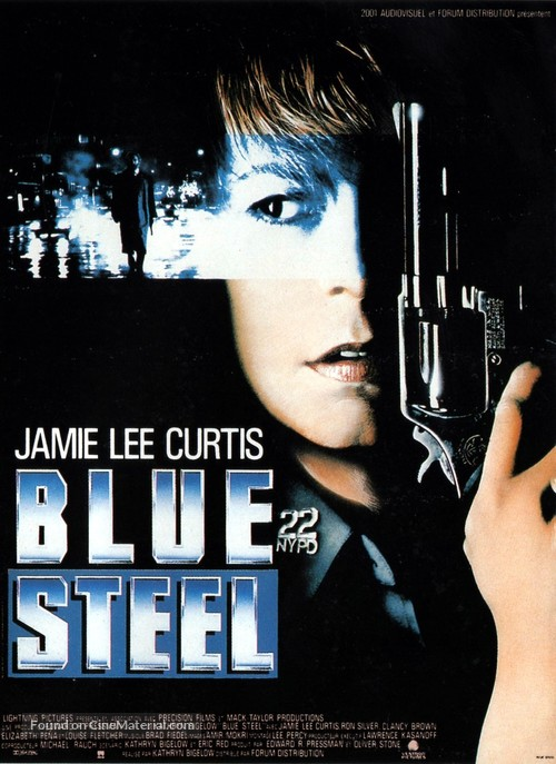 Blue Steel - French Movie Poster