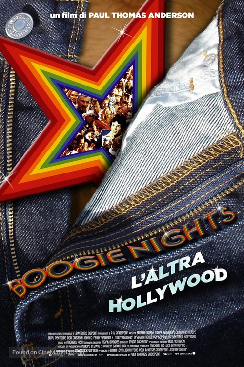 Boogie Nights - Italian Movie Poster