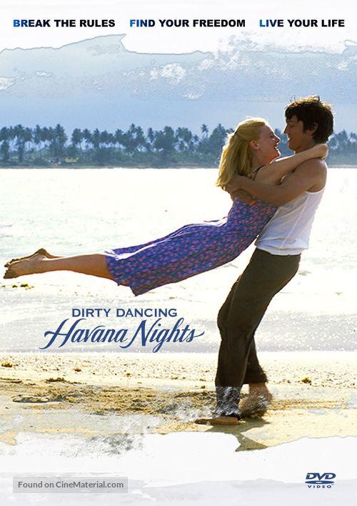 Dirty Dancing: Havana Nights - DVD movie cover