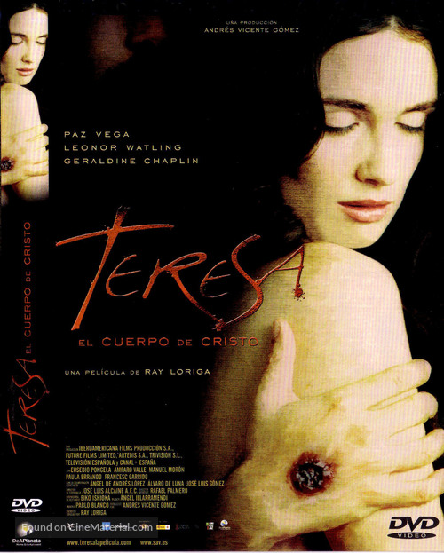 Teresa, el cuerpo de Cristo - Spanish Movie Cover