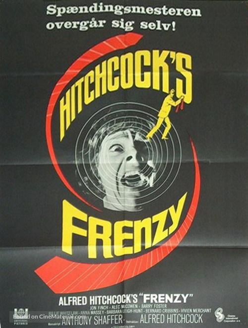 Frenzy - Danish Movie Poster