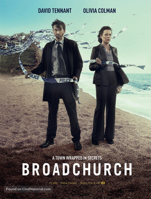 """Broadchurch"" - British Movie Poster"