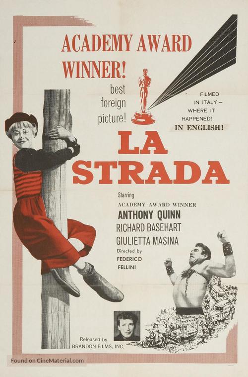 La strada - Movie Poster