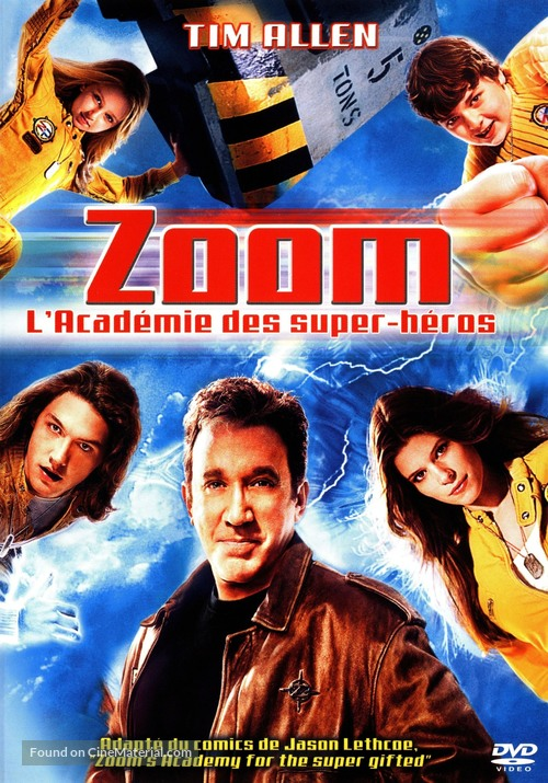 Zoom - French DVD movie cover