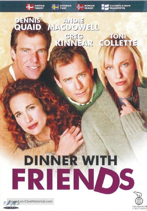 Dinner with Friends - Swedish DVD movie cover