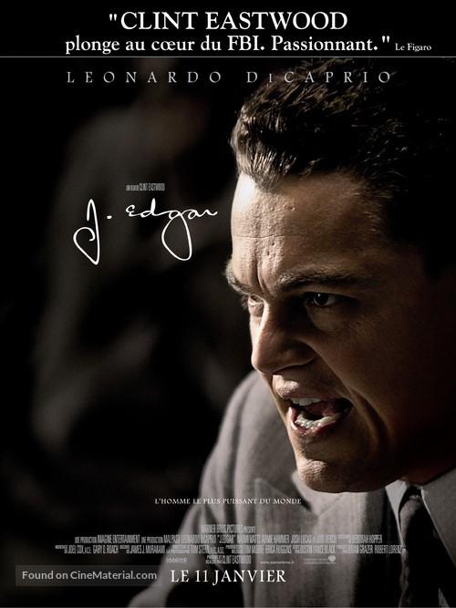 J. Edgar - French Movie Poster