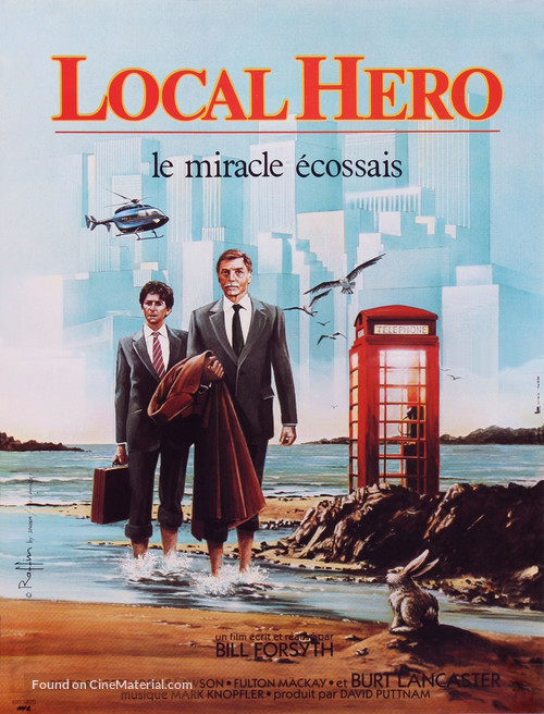 Local Hero - French Movie Poster