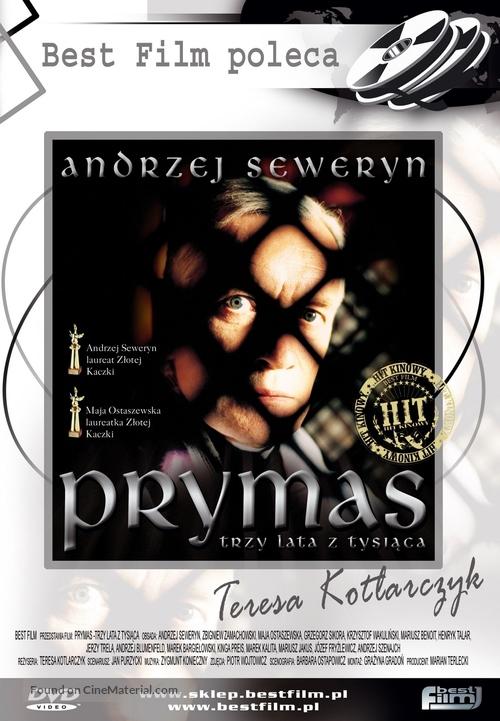Prymas - trzy lata z tysiaca - Polish Movie Cover