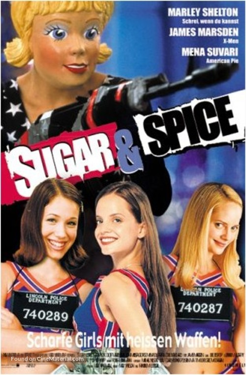 Sugar & Spice - German Movie Poster