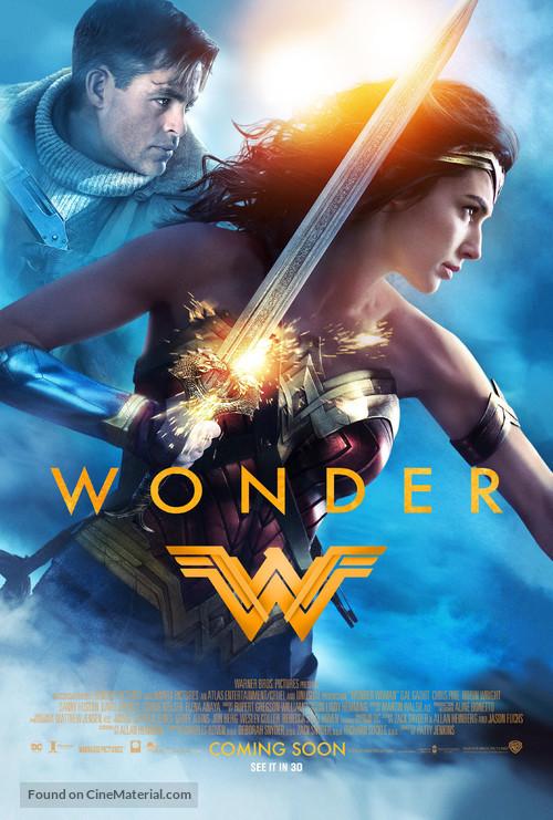Wonder Woman - British Movie Poster
