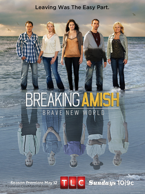 """""""Breaking Amish"""" - Movie Poster"""