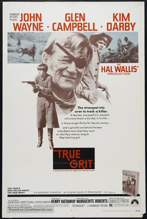 True Grit - Movie Poster