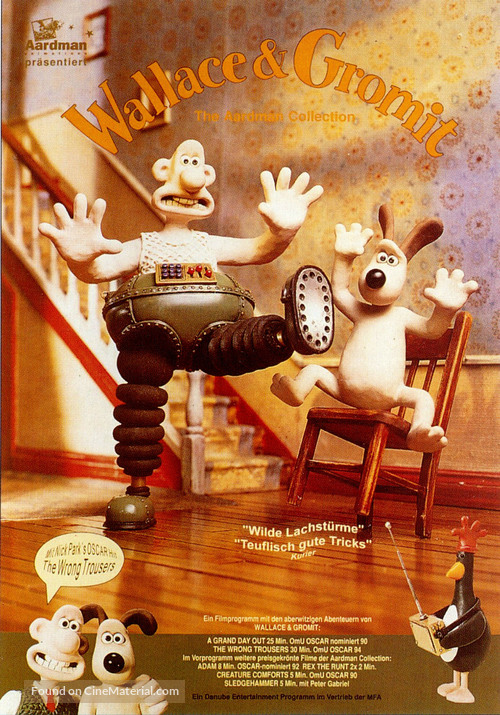 The Wrong Trousers - German Movie Poster