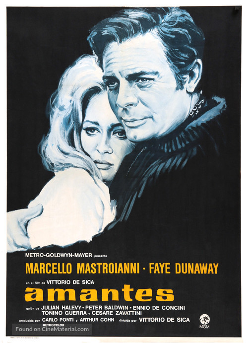 Amanti - Spanish Movie Poster