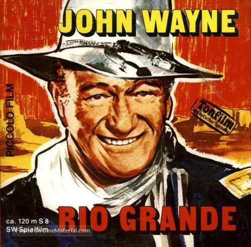 Rio Grande - German Movie Cover