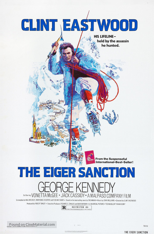 The Eiger Sanction - Movie Poster
