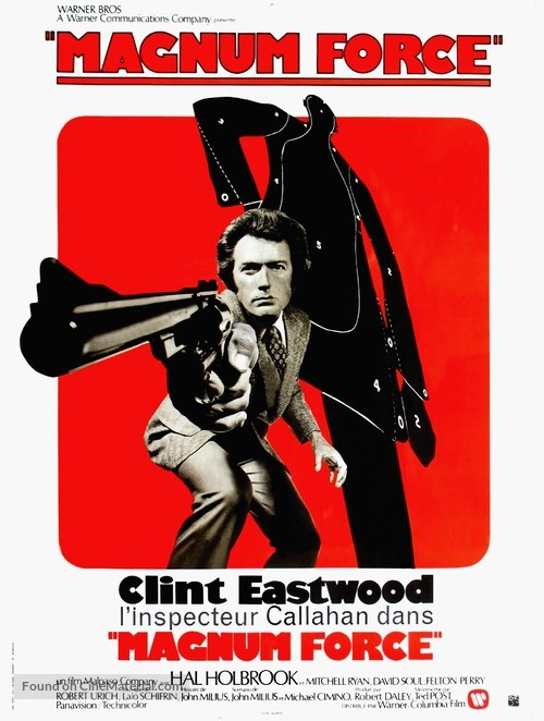 Magnum Force - French Movie Poster