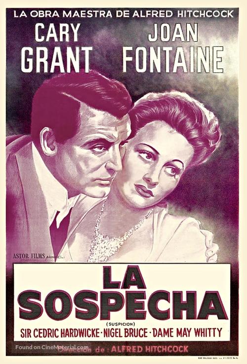 Suspicion - Argentinian Movie Poster