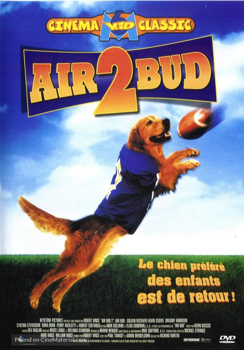 Air Bud: Golden Receiver - French Movie Cover