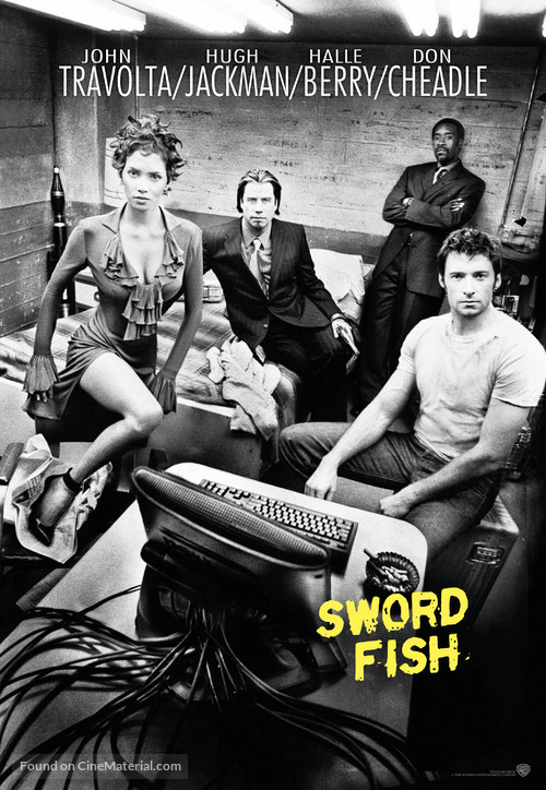 Swordfish - Movie Poster