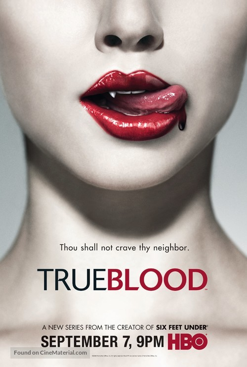 """True Blood"" - Movie Poster"
