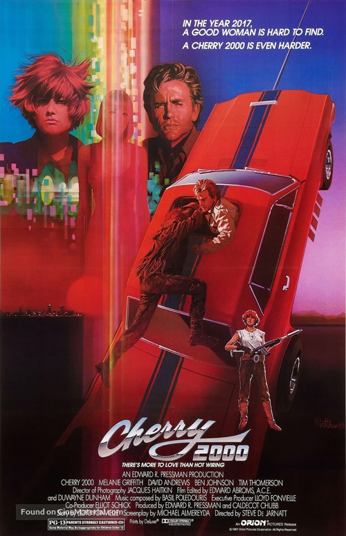 Cherry 2000 - Movie Poster