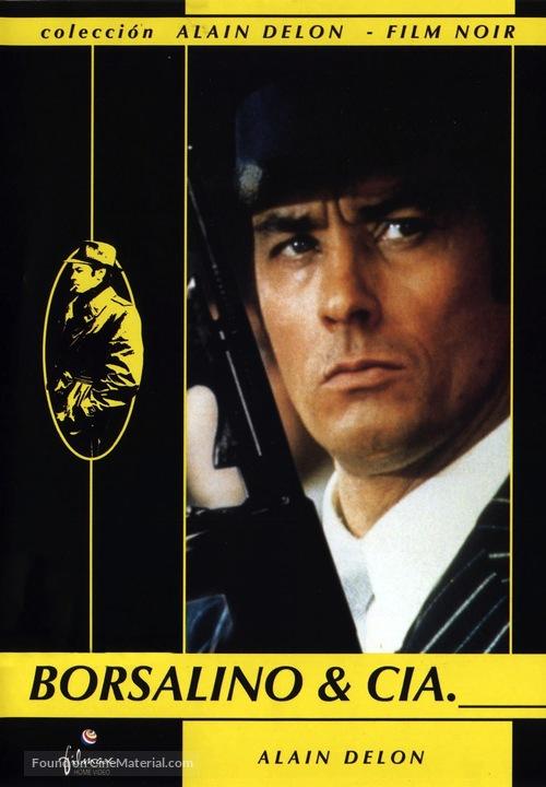 Borsalino and Co. - Spanish DVD movie cover