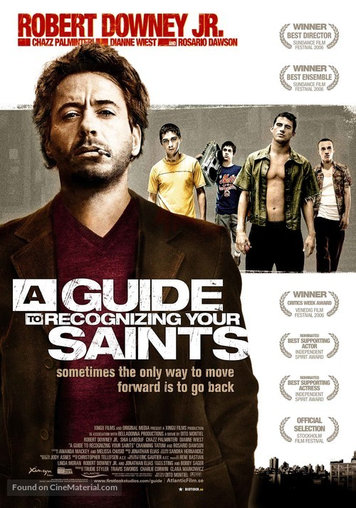 A Guide to Recognizing Your Saints - Swedish Movie Poster